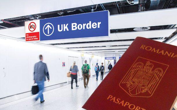 Românii vor intra cu pașaport în Marea Britanie