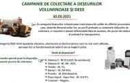 Campanie de colectare a deșeurilor voluminoase în Pitești!