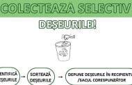 Colectează selectiv deșeurile!