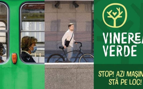"""""""Vinerea Verde"""" – ziua fără autoturismul personal la locul de muncă!"""