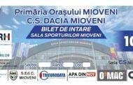 10 lei intrarea la inaugurarea Sălii Sporturilor din Mioveni