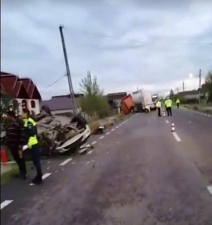 Copil mort în accident la Mihăești