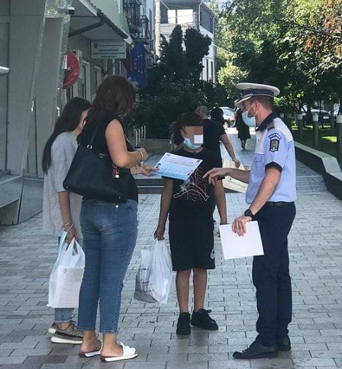 Poliţiştii preocupaţi de începerea noului an şcolar!