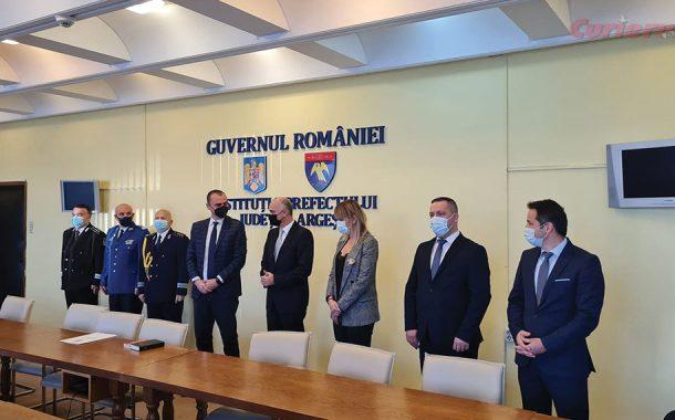 Prefectul Radu Perianu a fost învestit!