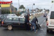 Tamponarea l-a dat de gol pe şofer!