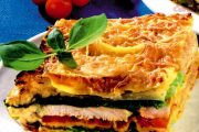Lasagne cu varză şi carne