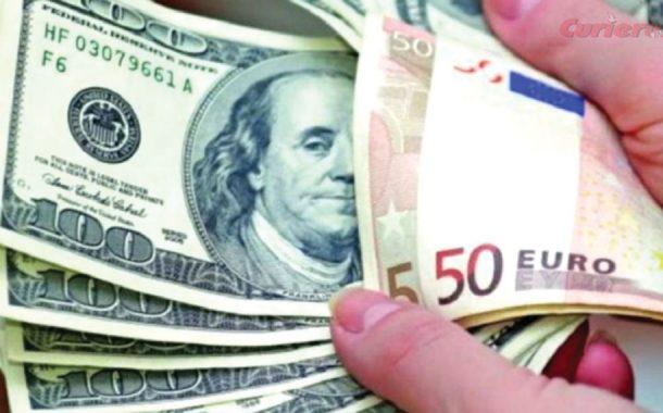 Euro – 4,94 lei la început de săptămână
