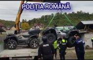 ATV-uri furate din Germania, recuperate de polițiști de la Călinești