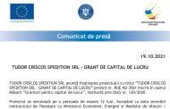 TUDOR CRISCOS SPEDITION SRL - GRANT DE CAPITAL DE LUCRU