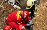 Muncitor prins sub pământ, la Mioveni!