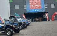 Jandarmii își expun vehiculele de intervenție la Salonul Auto București!