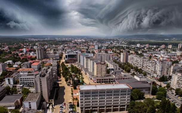 Un ciclon periculos lovește România